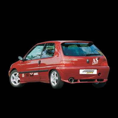 AILERON PEUGEOT 106 1996 LED BECQUET AS DESIGN