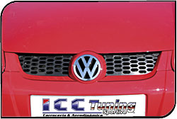 Calandre avant sport VW GOLF 5 GT - kit carrosserie ICC TUNING