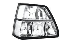 Feux arrieres adaptables VW Golf II cristal - dectane