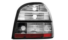 Feux arrieres adaptables VW Golf III cristal - dectane