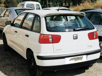 AILERON SEAT IBIZA 3-5P 1999 BECQUET AS DESIGN
