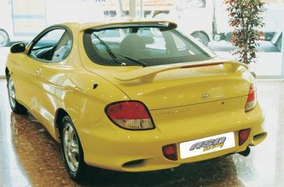 AILERON HYUNDAI COUPE 1999 SUP BECQUET AS DESIGN