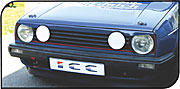 Paupiere de phare VW GOLF II DS ABS